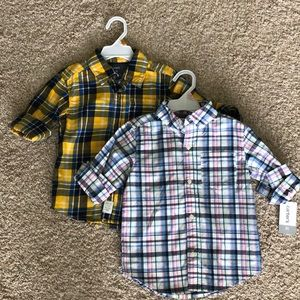Carters Sz 3T Boys shirts NWT